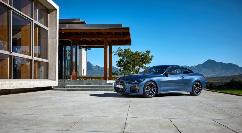 G22 BMW 4 Series Coupé debuts – five variants at launch; 48V mild-hybrid tech for M440i, three diesels Image #1125592