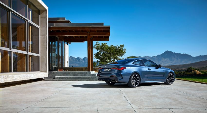 G22 BMW 4 Series Coupé debuts – five variants at launch; 48V mild-hybrid tech for M440i, three diesels Image #1125591