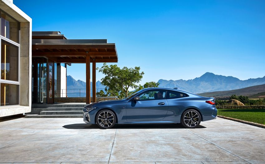 G22 BMW 4 Series Coupé debuts – five variants at launch; 48V mild-hybrid tech for M440i, three diesels Image #1125590