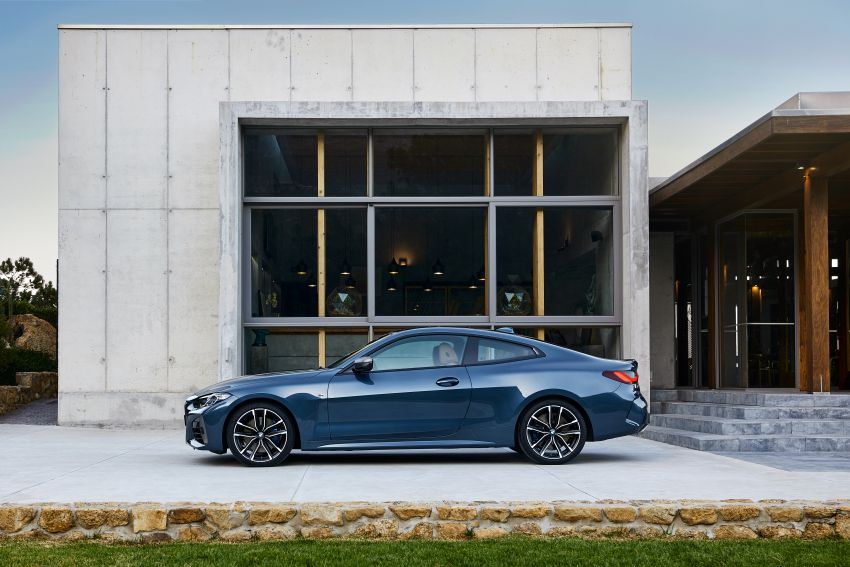 G22 BMW 4 Series Coupé debuts – five variants at launch; 48V mild-hybrid tech for M440i, three diesels Image #1125589