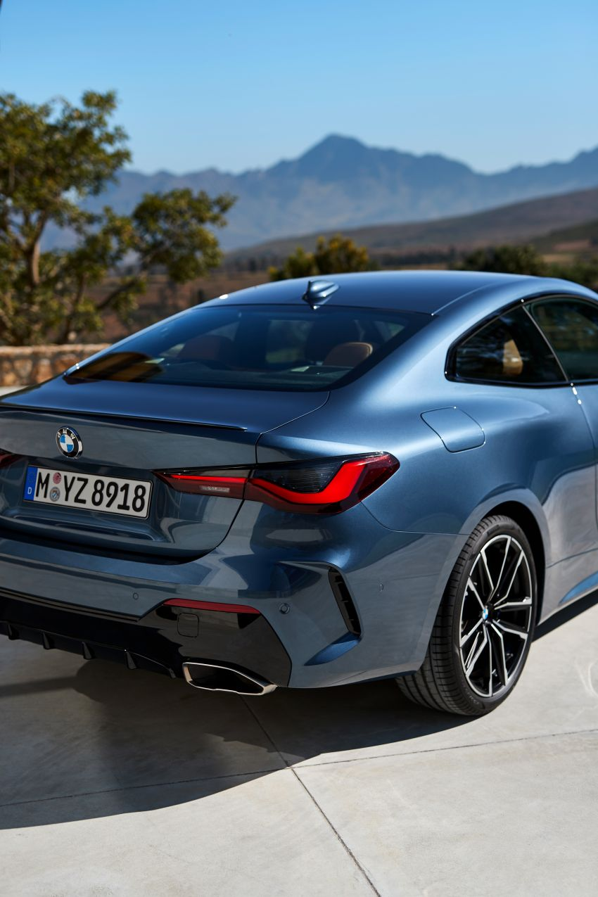 G22 BMW 4 Series Coupé debuts – five variants at launch; 48V mild-hybrid tech for M440i, three diesels Image #1125588