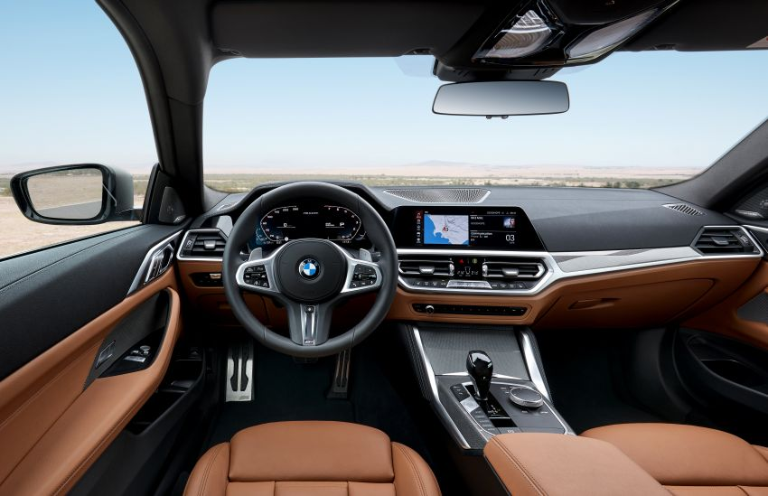 G22 BMW 4 Series Coupé debuts – five variants at launch; 48V mild-hybrid tech for M440i, three diesels Image #1125662