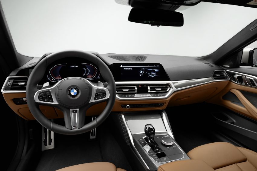 G22 BMW 4 Series Coupé debuts – five variants at launch; 48V mild-hybrid tech for M440i, three diesels Image #1125677
