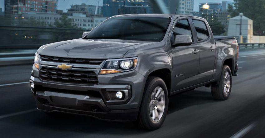 2021 Chevrolet Colorado facelift – Silverado-like face Image #1133318