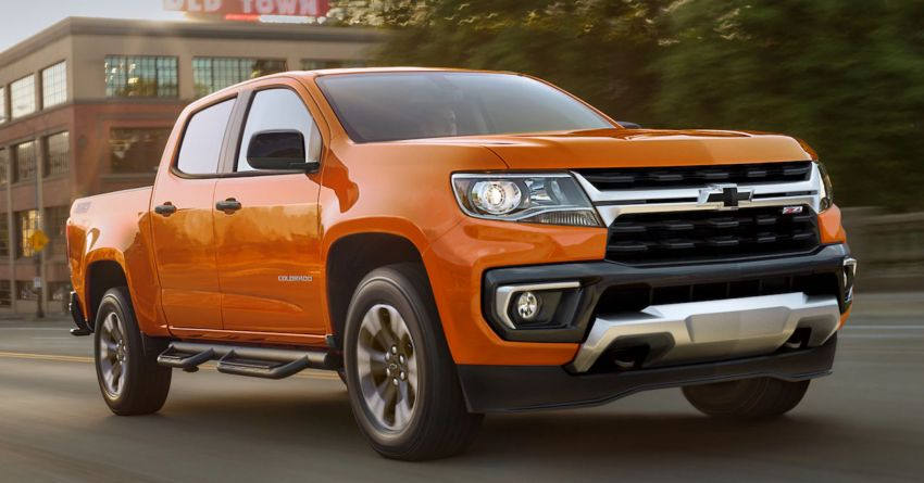 2021 Chevrolet Colorado facelift – Silverado-like face Image #1133319