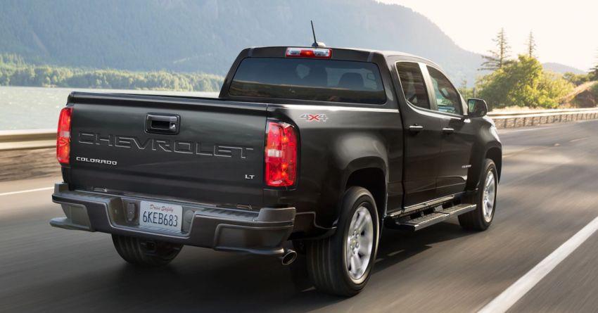2021 Chevrolet Colorado facelift – Silverado-like face Image #1133320