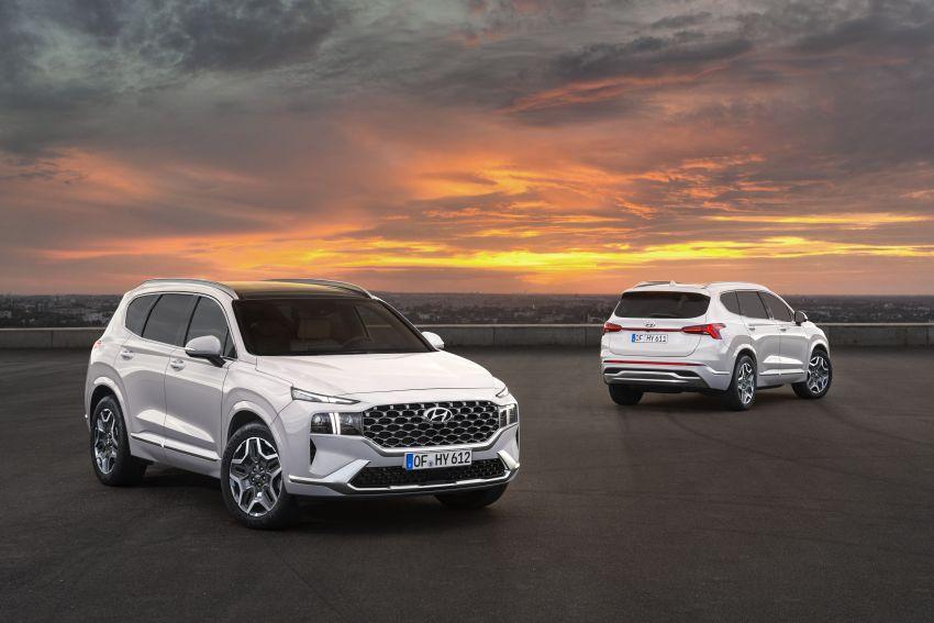 2021 Hyundai Santa Fe facelift revealed – SUV sports bold front end, redesigned cabin, new platform Image #1126169