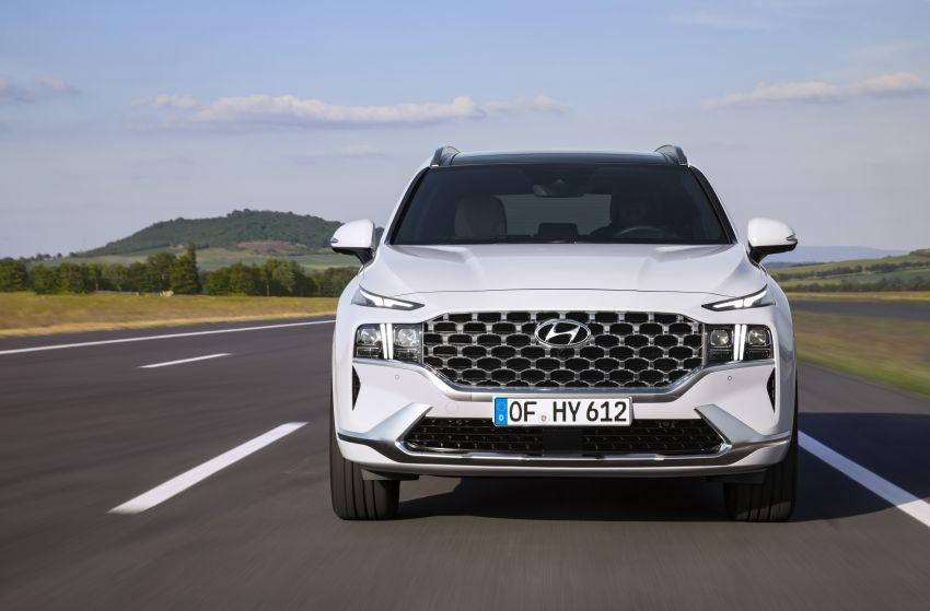 Hyundai Santa Fe facelift 2021 didedahkan – guna platform baharu dengan rekaan lebih agresif Image #1126336