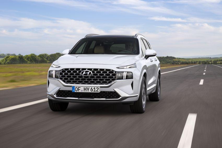 Hyundai Santa Fe facelift 2021 didedahkan – guna platform baharu dengan rekaan lebih agresif Image #1126338
