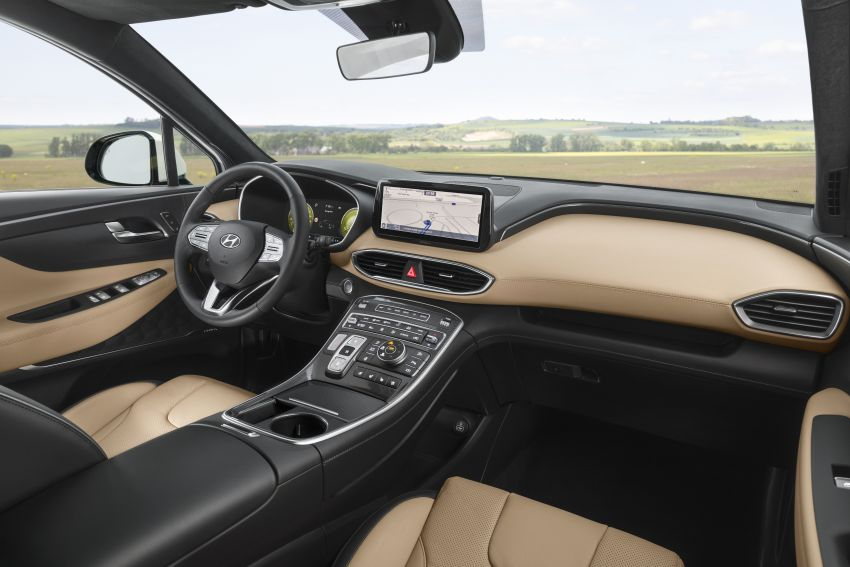 2021 Hyundai Santa Fe facelift revealed – SUV sports bold front end, redesigned cabin, new platform Image #1126173