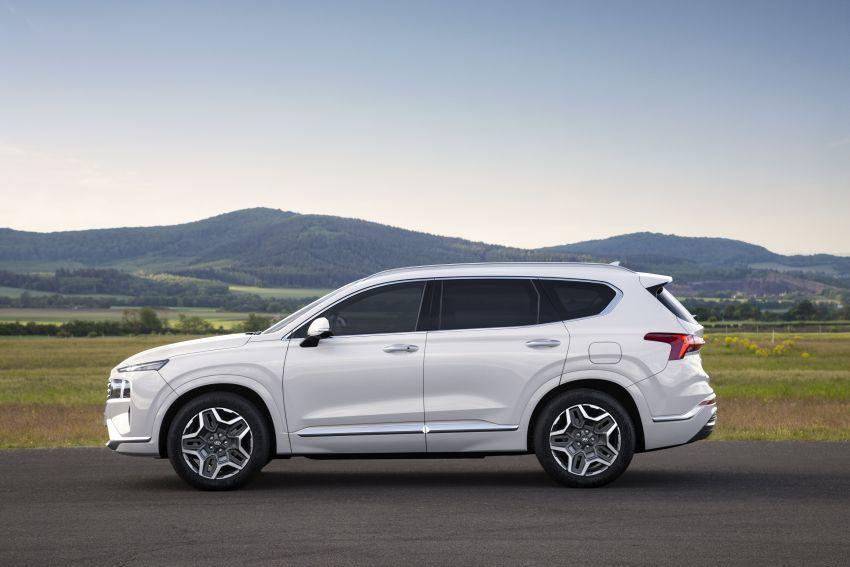 Hyundai Santa Fe facelift 2021 didedahkan – guna platform baharu dengan rekaan lebih agresif Image #1126332