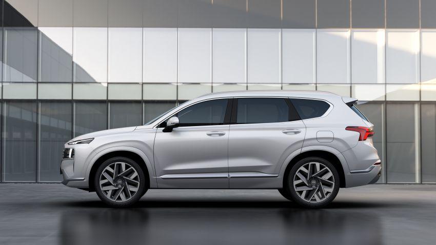 Hyundai Santa Fe facelift 2021 didedahkan – guna platform baharu dengan rekaan lebih agresif Image #1125973