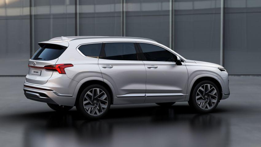 Hyundai Santa Fe facelift 2021 didedahkan – guna platform baharu dengan rekaan lebih agresif Image #1125974
