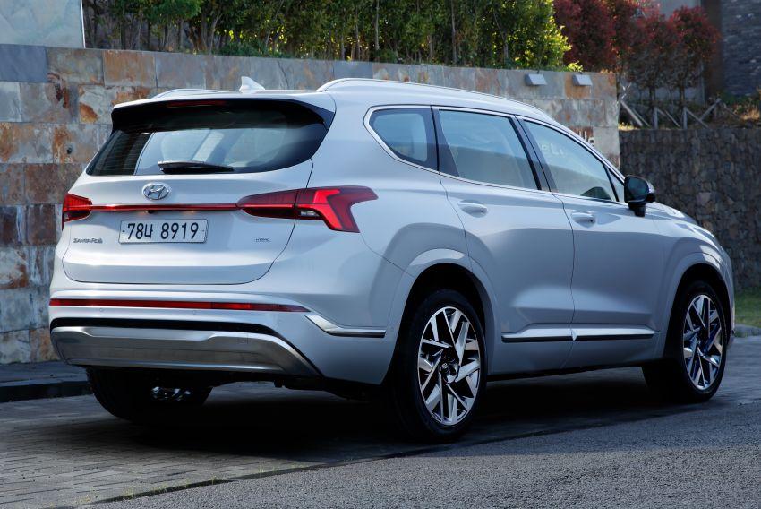 Hyundai Santa Fe facelift 2021 didedahkan – guna platform baharu dengan rekaan lebih agresif Image #1125976