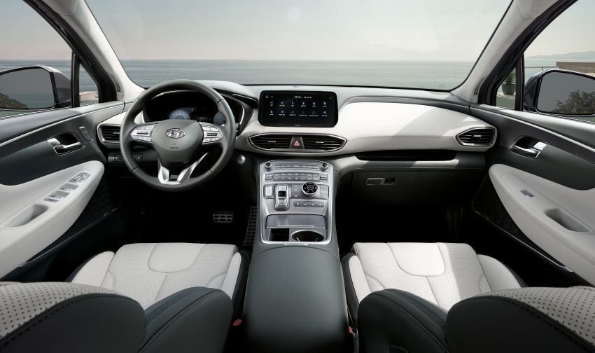 2021 Hyundai Santa Fe facelift revealed – SUV sports bold front end, redesigned cabin, new platform Image #1125859