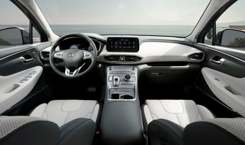 Hyundai Santa Fe facelift 2021 didedahkan – guna platform baharu dengan rekaan lebih agresif Image #1125978