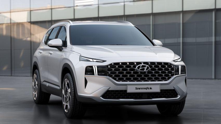 2021 Hyundai Santa Fe facelift revealed – SUV sports bold front end, redesigned cabin, new platform Image #1125861