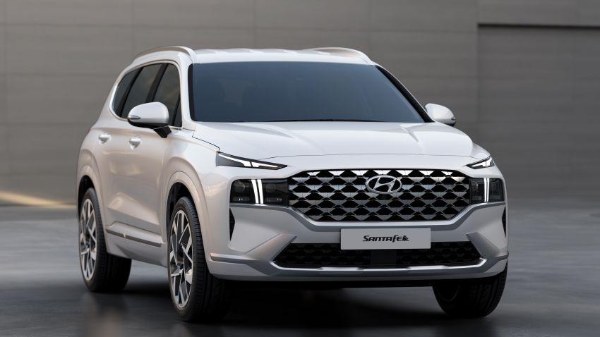 Hyundai Santa Fe facelift 2021 didedahkan – guna platform baharu dengan rekaan lebih agresif Image #1125981