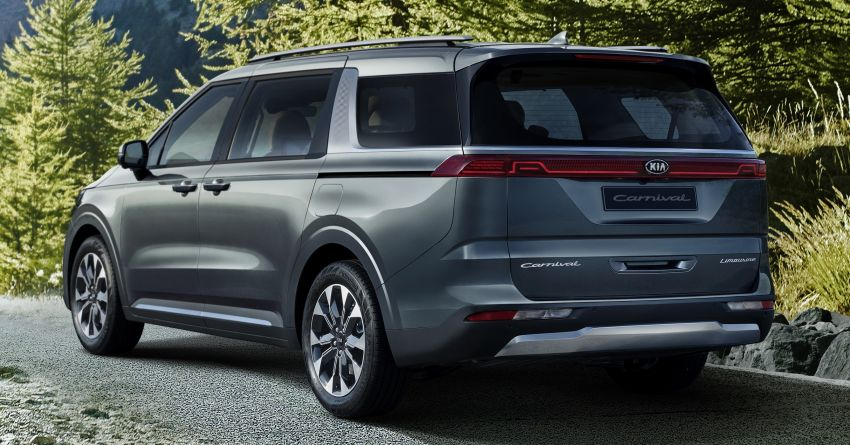 2021 Kia Grand Carnival breaks cover – solid looker! Image #1134911
