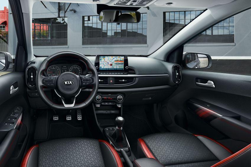 Kia Picanto facelift 2021 untuk Eropah didedahkan – 1.0L turbo dan NA, kotak gear AMT lima-kelajuan Image #1127633