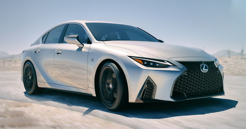 2021 Lexus IS debuts – three engines, RWD and AWD, uprated body rigidity, enhanced Lexus Safety System+ Image #1130898