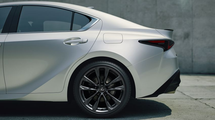 2021 Lexus IS debuts – three engines, RWD and AWD, uprated body rigidity, enhanced Lexus Safety System+ Image #1130893