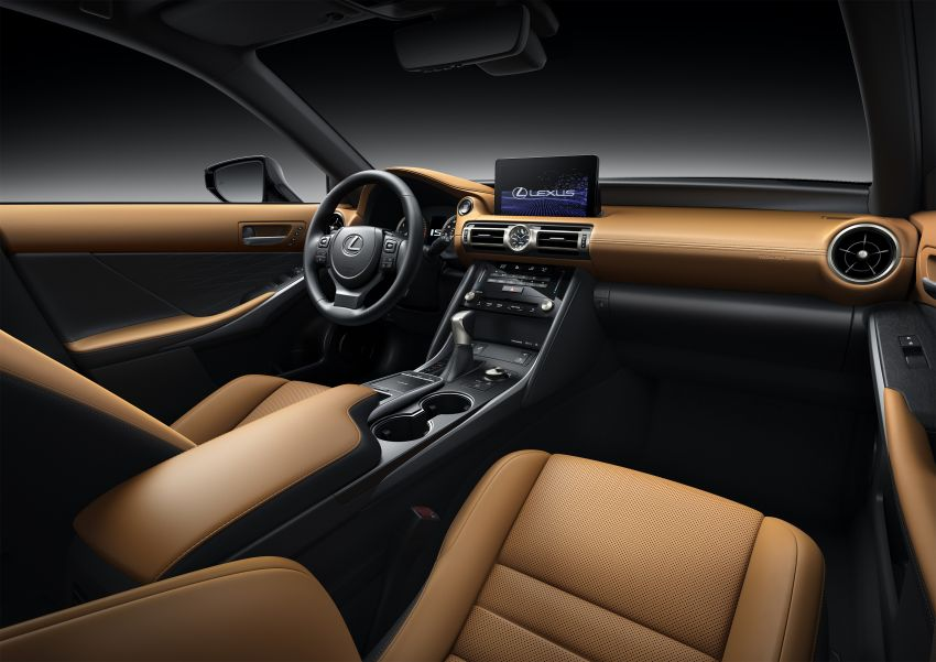 2021 Lexus IS debuts – three engines, RWD and AWD, uprated body rigidity, enhanced Lexus Safety System+ Image #1130858