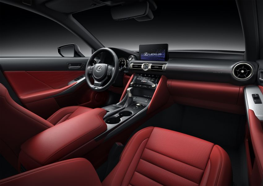 2021 Lexus IS debuts – three engines, RWD and AWD, uprated body rigidity, enhanced Lexus Safety System+ Image #1130856