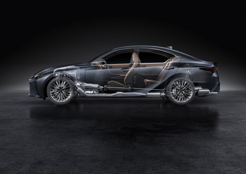 2021 Lexus IS debuts – three engines, RWD and AWD, uprated body rigidity, enhanced Lexus Safety System+ Image #1130804