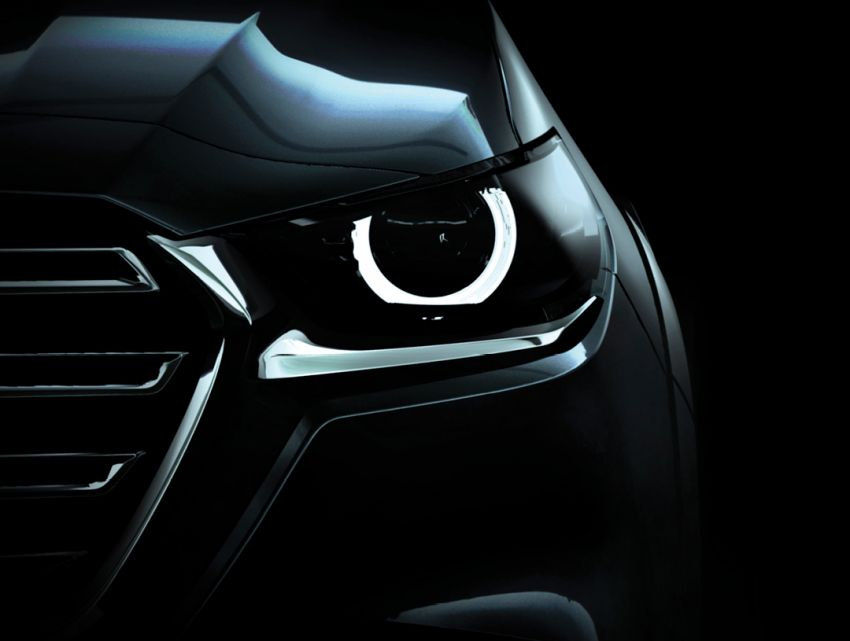 2021 Mazda BT-50 teased again, reveal in two days Image #1130695