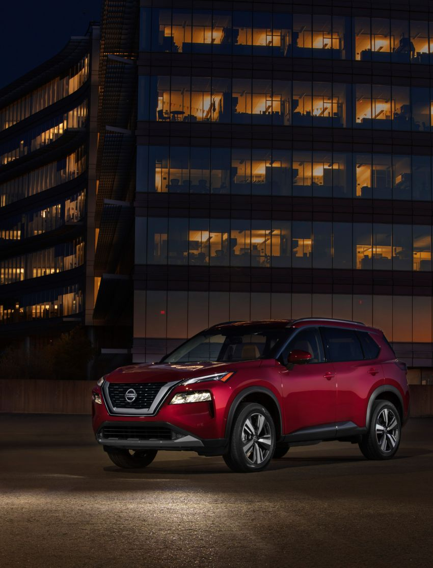 2021 Nissan X-Trail makes its debut – fourth-gen gets an all-new design, more equipment and tech, 2.5L CVT Image #1130778