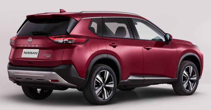 2021 Nissan X-Trail makes its debut – fourth-gen gets an all-new design, more equipment and tech, 2.5L CVT Image #1130814