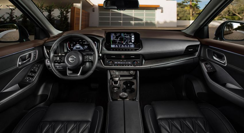 Nissan X-Trail 2021 didedah – rekaan serba baru untuk generasi keempat, kelengkapan dipertingkat, enjin 2.5L Image #1131102