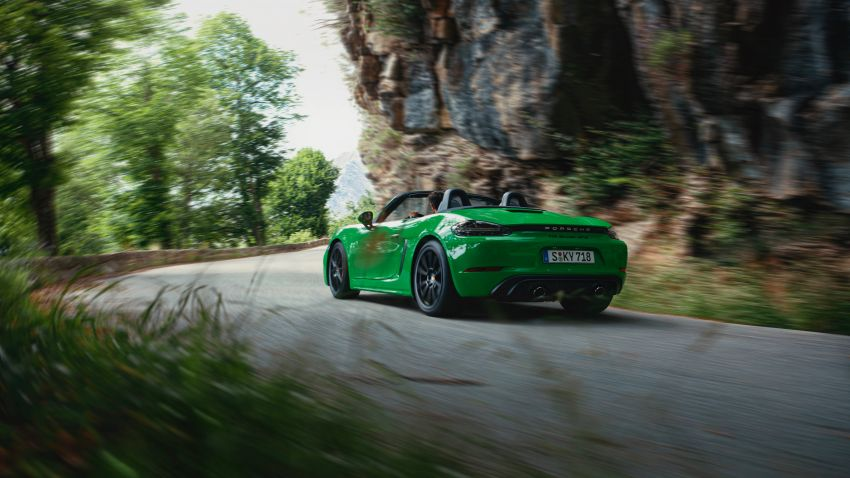 2021 Porsche 718 Boxster and Cayman updated in the US – better kit, 7-speed PDK option across the board Image #1135695
