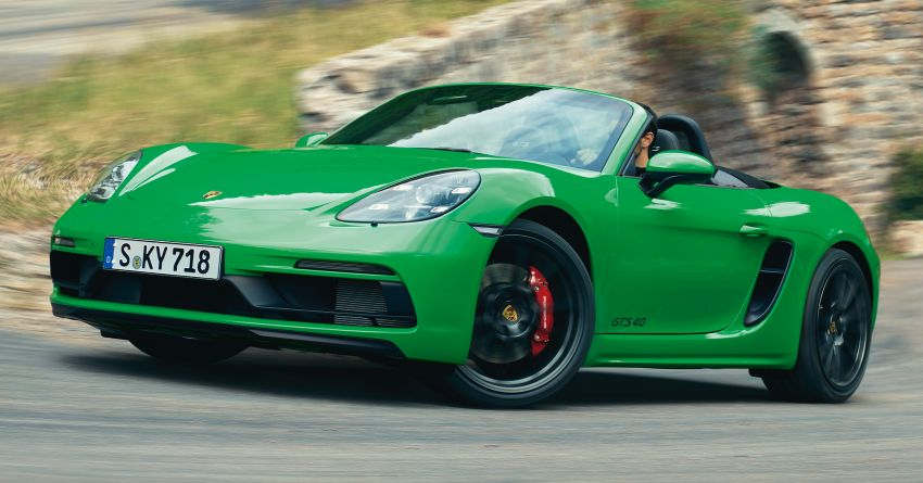 2021 Porsche 718 Boxster and Cayman updated in the US – better kit, 7-speed PDK option across the board Image #1135696