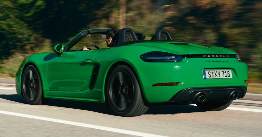 2021 Porsche 718 Boxster and Cayman updated in the US – better kit, 7-speed PDK option across the board Image #1135699