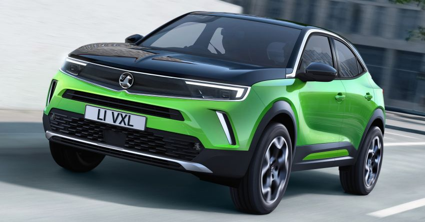 2021 Vauxhall Mokka debuts – brand new Vizor fascia, CMP platform, digital cockpit; EV gets 320 km range Image #1135769