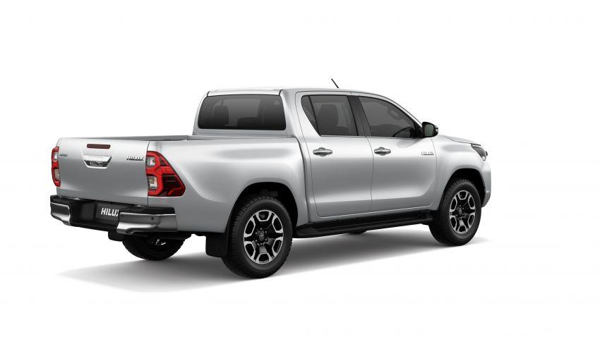 Toyota Hilux facelift didedahkan – rupa lebih garang, model 2.8L turbodiesel terima kuasa 204 hp/500 Nm Image #1126479