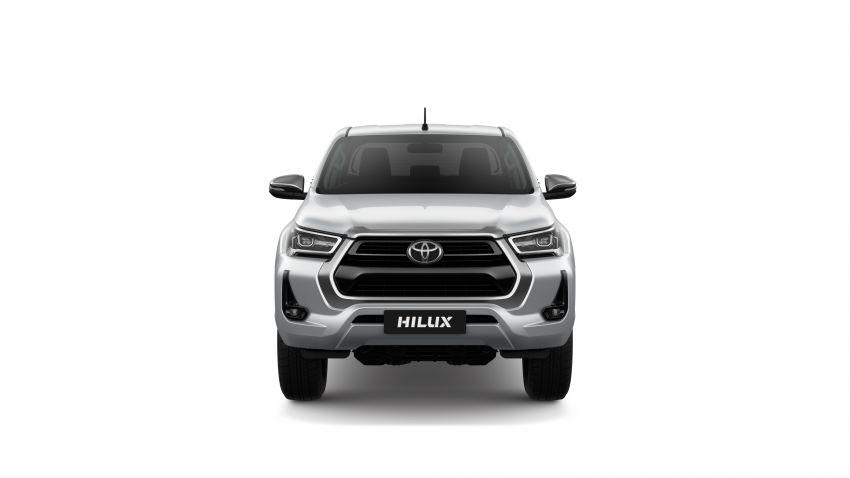 Toyota Hilux facelift didedahkan – rupa lebih garang, model 2.8L turbodiesel terima kuasa 204 hp/500 Nm Image #1126480