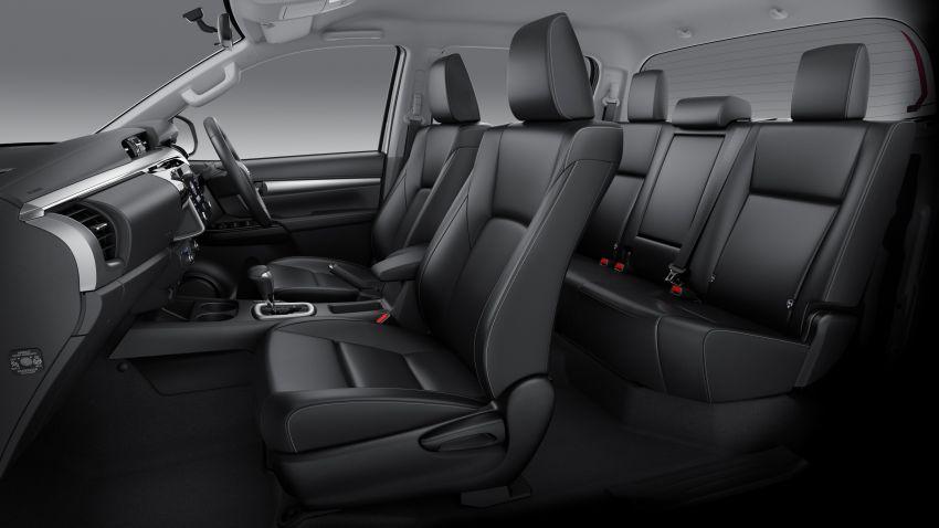 Toyota Hilux facelift didedahkan – rupa lebih garang, model 2.8L turbodiesel terima kuasa 204 hp/500 Nm Image #1126483