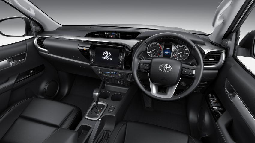 Toyota Hilux facelift didedahkan – rupa lebih garang, model 2.8L turbodiesel terima kuasa 204 hp/500 Nm Image #1126484