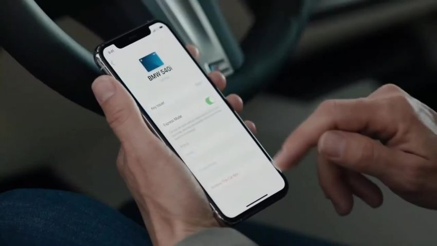 BMW to be the first carmaker to support Apple's new CarKey feature – use your iPhone as a digital car key Image #1134232