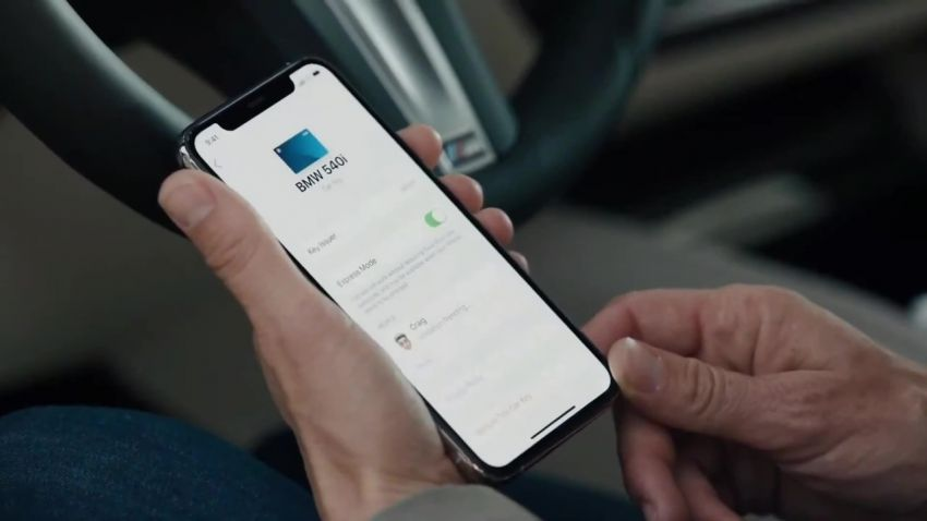 BMW to be the first carmaker to support Apple's new CarKey feature – use your iPhone as a digital car key Image #1134238