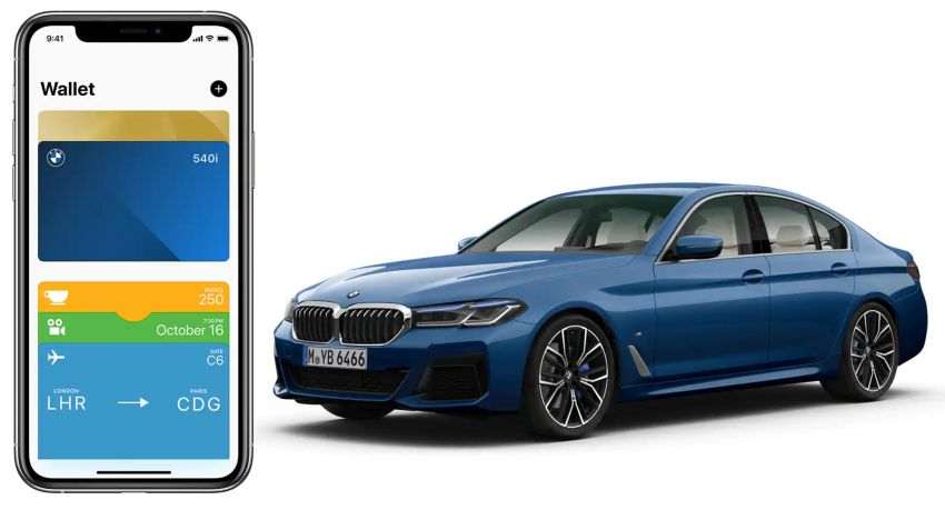 BMW to be the first carmaker to support Apple's new CarKey feature – use your iPhone as a digital car key Image #1134208