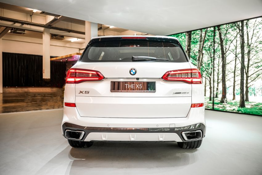 2020 BMW X5 xDrive45e PHEV launched – 3.0L turbo, 394 PS, 77 km electric range, RM441k without SST Image #1132106