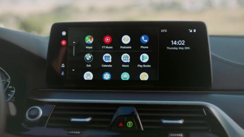 BMW showcases wireless Android Auto on its cars Image #1136107