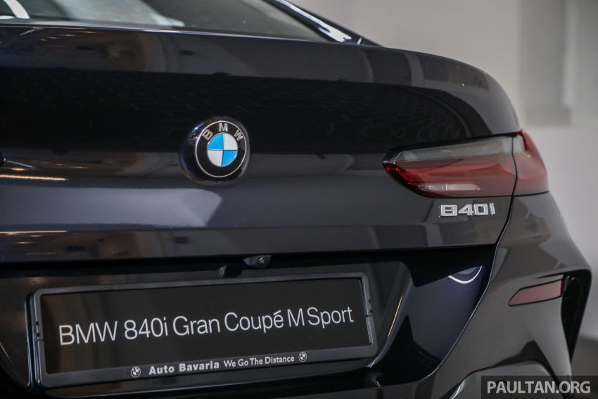 GALLERY: 2020 G16 BMW 840i Gran Coupe M Sport in Malaysia – 340 PS 3.0L turbo straight-six; from RM937k Image #1134341