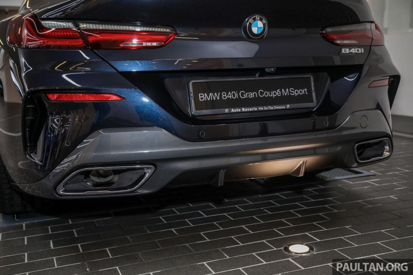 GALLERY: 2020 G16 BMW 840i Gran Coupe M Sport in Malaysia – 340 PS 3.0L turbo straight-six; from RM937k Image #1134342