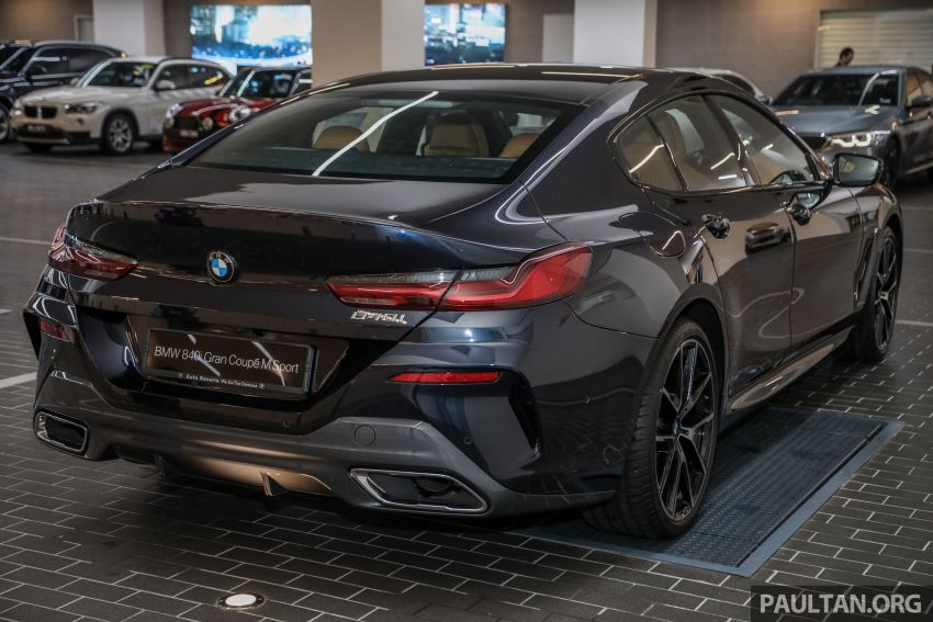 GALLERY: 2020 G16 BMW 840i Gran Coupe M Sport in Malaysia – 340 PS 3.0L turbo straight-six; from RM937k Image #1134317