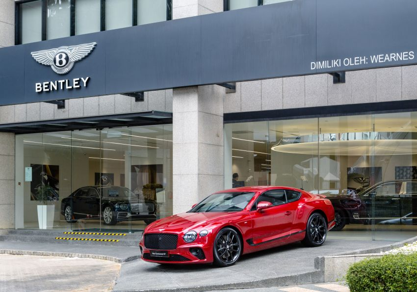 Bentley Continental GT V8 now in Malaysia – 550 PS, 770 Nm, 0-100 in 4.0s, from RM795k before local tax Image #1137872